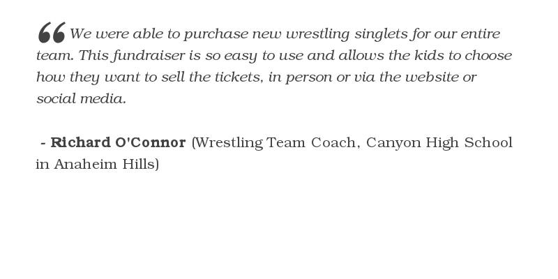 $1,449 was raised by Canyon High School Wrestling